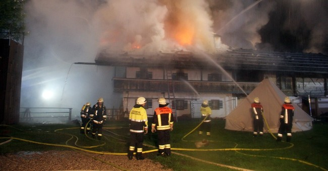 6 missing after fire at guesthouse in southern Germany