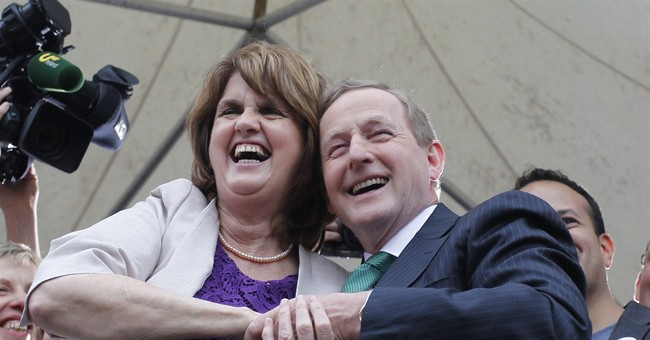 Ireland gives resounding 62.1 percent 'yes' to gay marriage