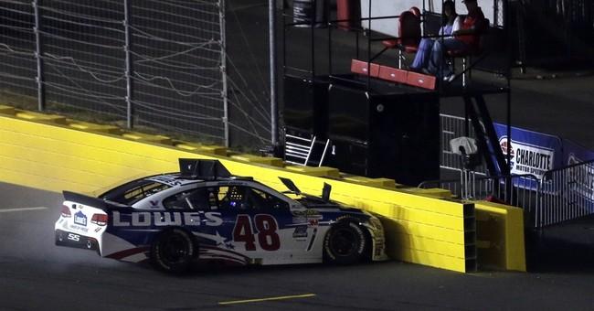 The Latest: Carl Edwards wins NASCAR's Coca-Cola 600