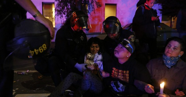 Dozens arrested, cited after Northern California protest