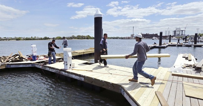 Northeast marinas scramble to repair damage from deep freeze