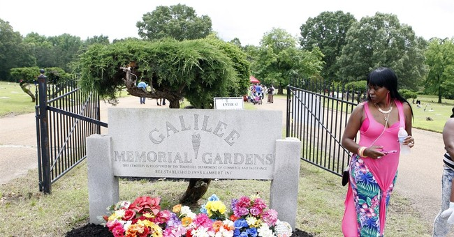 Troubled Memphis-area cemetery reopens for family visits