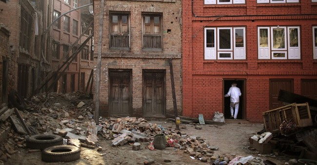 Image of Asia: Damage and loss a month later in Nepal