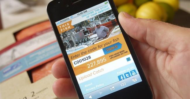 Latest in food-track tech: Swipe a code, meet your fisherman
