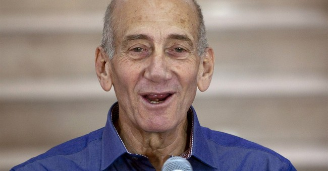 A look at former Israeli Premier Ehud Olmert's career