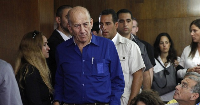 A look at former Israeli Premier Ehud Olmert's career