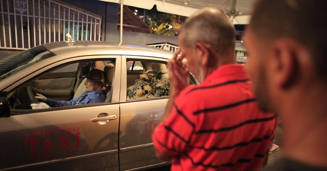Unusual wake held for Puerto Rican taxi driver