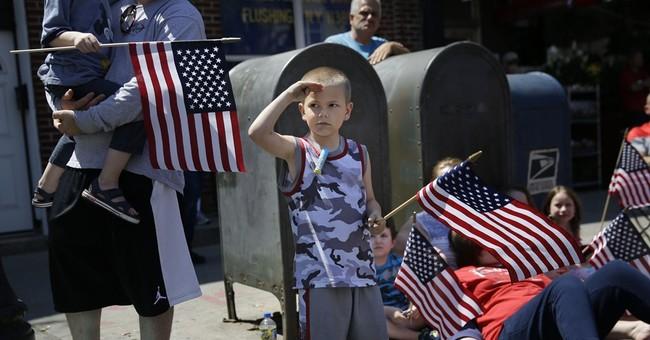 AP PHOTOS: US reflects on veterans' sacrifices
