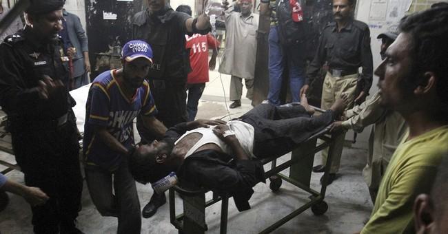Son of Pakistan's president escapes bomb attack killing 3