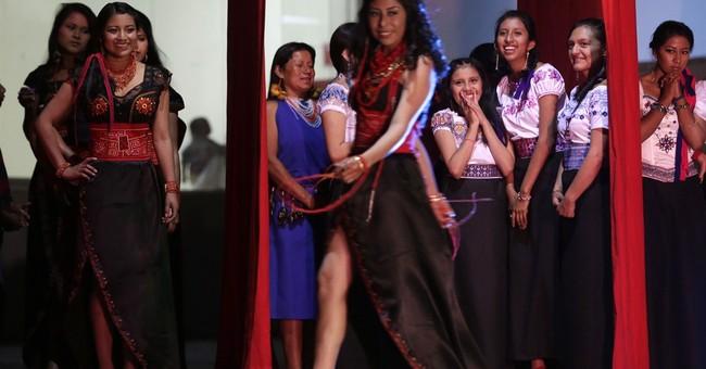AP PHOTOS: Indigenous beauty queen chosen in Ecuador