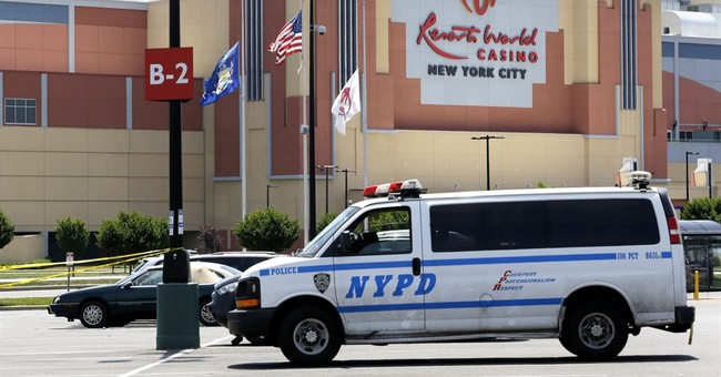 Cops fatally shoot man who killed ex outside New York casino