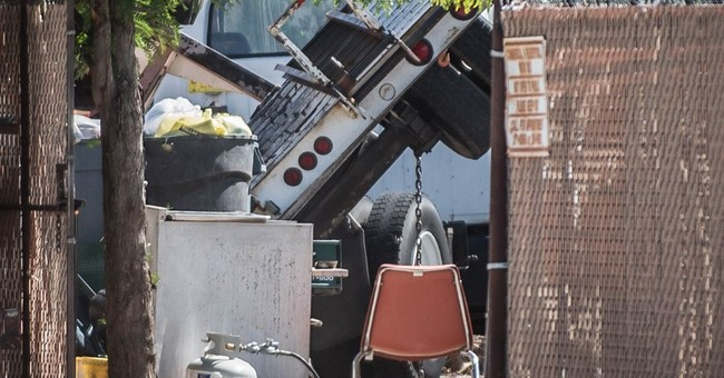 Man, child who died in cherry picker accident identified