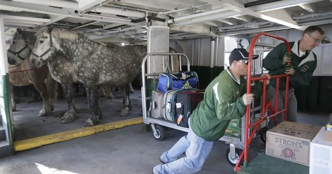 Horses return to Mackinac Island in rite of spring