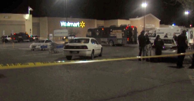 Police: US airman shoots Wal-Mart workers, kills self