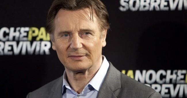 Nielsen survey says Liam Neeson is big ad man