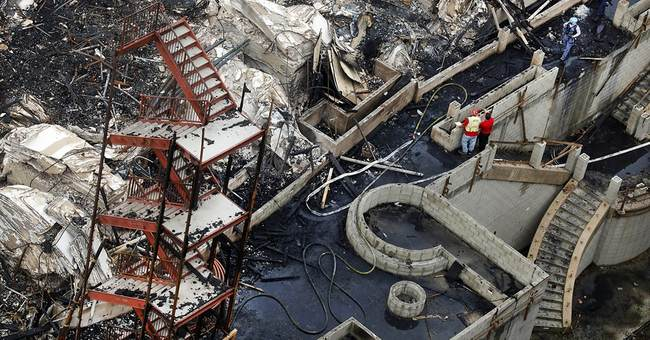 Suspect in downtown Los Angeles arson case pleads not guilty
