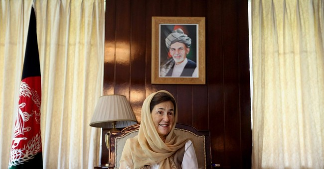 AP Interview: Afghanistan's first lady breaks taboos