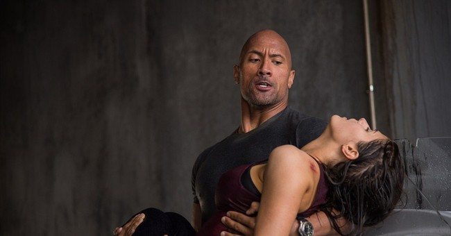 The Rock faces off against the Big One in 'San Andreas'