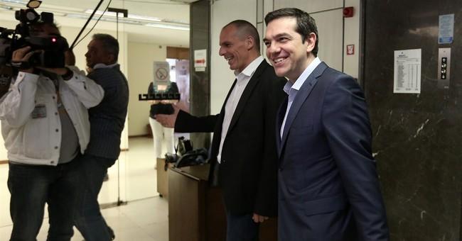 Greece says deal close, Schaeuble quashes optimism