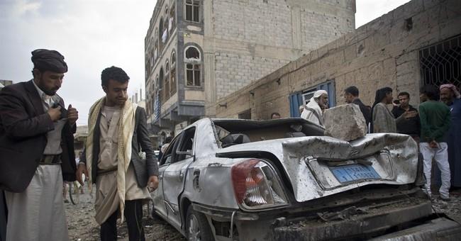 Saudi-led airstrikes on police headquarters kill 45 in Yemen