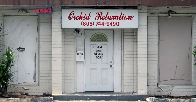 No sex assault charges for women in massage parlor sting