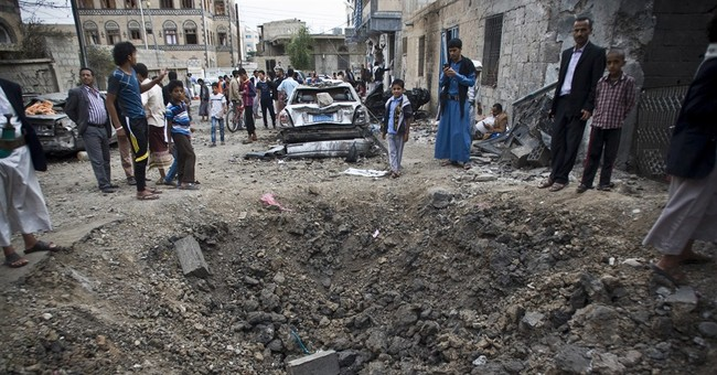 Saudi-led airstrikes on police headquarters kill 45 in Yemen
