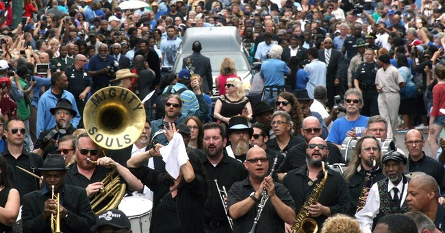 Blues legend B.B. King honored with Memphis processional