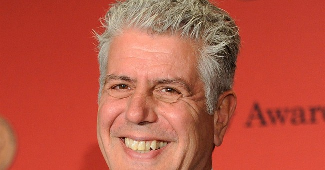 Bourdain plants digital footprint as editor at food website