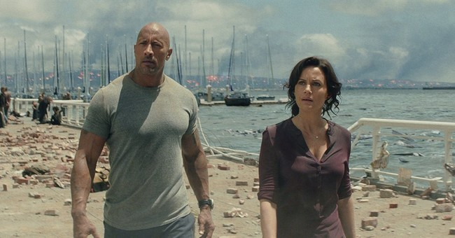 Review: Dwayne comes to the rescue, but he forgot the script