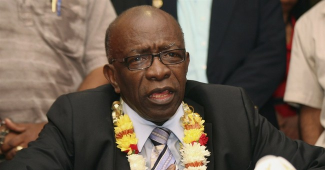 Ex-FIFA vice president Warner leaves jail in ambulance