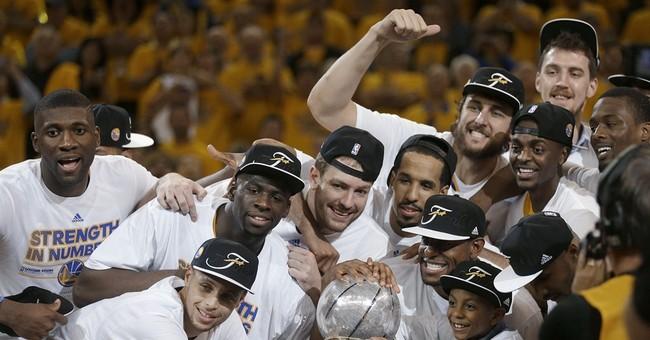 Warriors eliminate Rockets, end 40-year NBA Finals drought