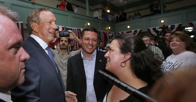 Former NY GOP governor Pataki in the race for president