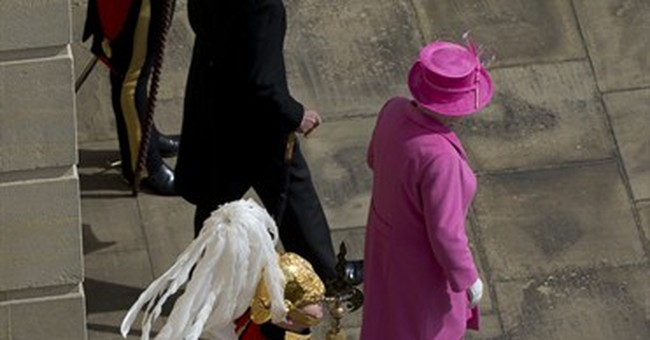 Tired feet? Not Her Majesty despite 8,000 party guests