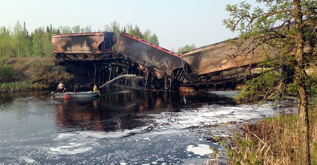 Railroad bridge fire and collapse ruled accidental
