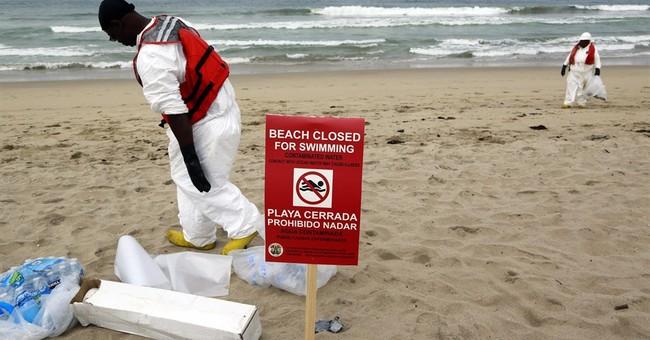 Authorities eye reopening of goo-struck California beaches