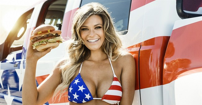 Carl's, Hardee's CEO: Not all models know how to eat burgers