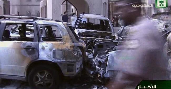 IS claims suicide bombing on Shiite mosque in Saudi, 4 dead