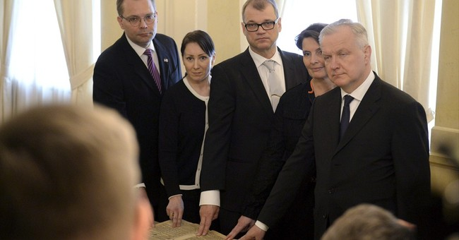 EU-skeptic Finnish party joins Cabinet for 1st time