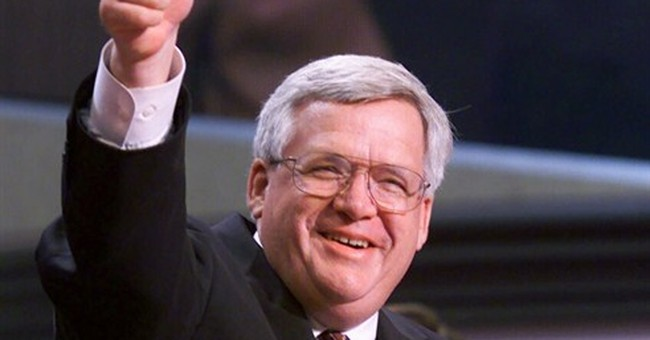 Hastert rose to speakership among the scandals of others