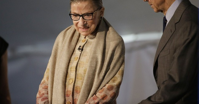 Ginsburg urges young women to wage inspiring fights
