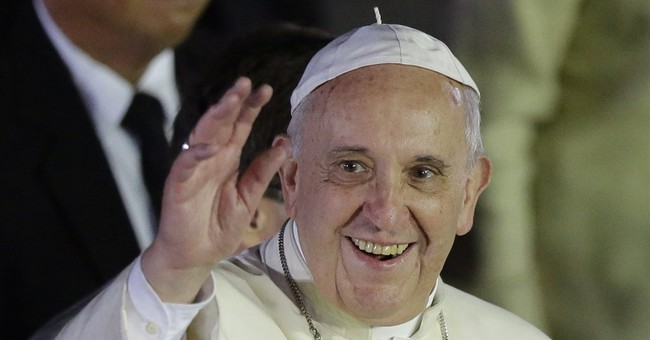 Storm cuts short pope's trip to typhoon-hit Philippine city