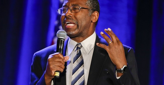 Ben Carson likens Islamic State to American patriots