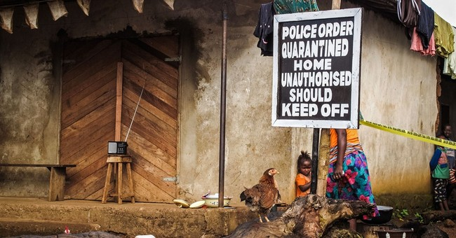 UN: At least 50 Ebola hotspots remain, but new cases falling