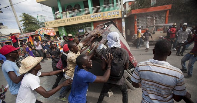 Haiti's new prime minister faces instability, protests