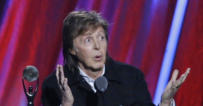 McCartney says he's given up pot now that he's a granddad