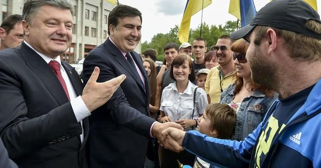 Ex-Georgian president named governor of Ukraine region
