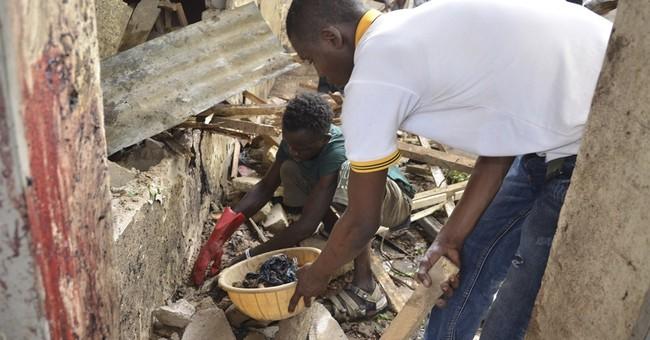 Suicide bomber, rocket grenades kill 30 in Nigerian city