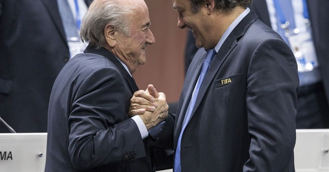 Blatter says he will forgive but won't forget UEFA rebellion