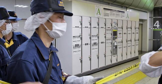 Body found in suitcase in Tokyo Station locker