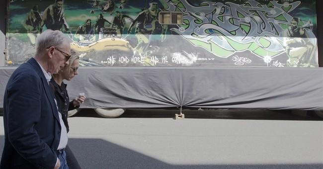 Trailer home-turned-Banksy canvas sells for $546,000
